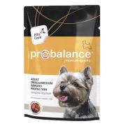 ProBalance Adult Small&Medium для взрослых собак малых и средних пород (пауч), 100 гр