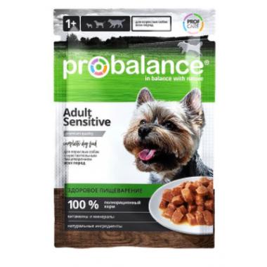 ProBalance Sensitive для взрослых собак с чувствительным пищеварением (пауч), 100 гр