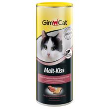 Gimcat Malt-Kiss витамины для выведения шерсти из желудка для котов, 450 гр