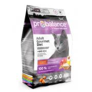 ProBalance Gourmet Diet Корм сухой для кошек с говядиной и ягненком, 400 гр