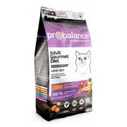ProBalance Gourmet Diet Корм сухой для кошек с говядиной и кроликом, 10 кг