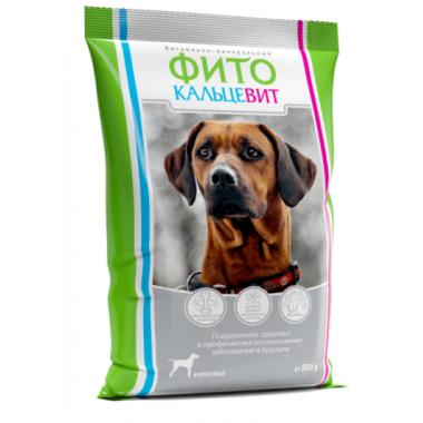 Фитокальцевит для взрослых собак, 500 гр