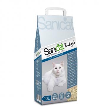 Sanicat Budget наполнитель впитывающий, 10 л