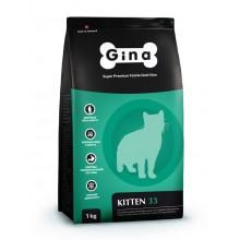 Gina Kitten-33 корм для котят с курицей