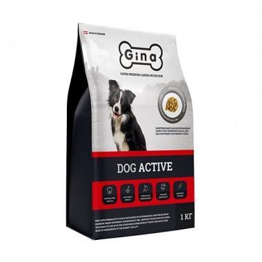 GINA Dog Active корм для выставочных и активных собак 7,5 кг