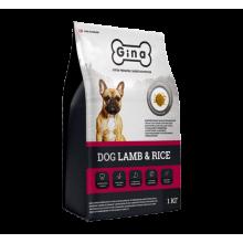GINA Dog Lamb & Rice гипоаллергенный корм для собак мелких и средних пород (Ягненок)