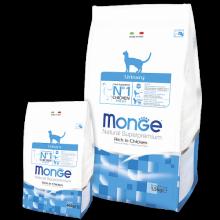 Monge Cat  Urinary  Корм для кошек  с профилактикой МКБ (с цыпленком)