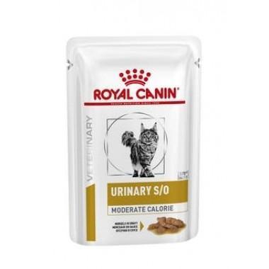 """Royal Canin Urinary S/O Moderate Calorie"" низкокалорийная диета при заболеваниях нижних мочевыводящих путей 85 гр."