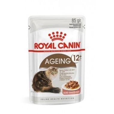"""Влажный корм """"Royal Canin Ageing 12+"""" для кошек старше 12 лет (в соусе) 85 гр."""