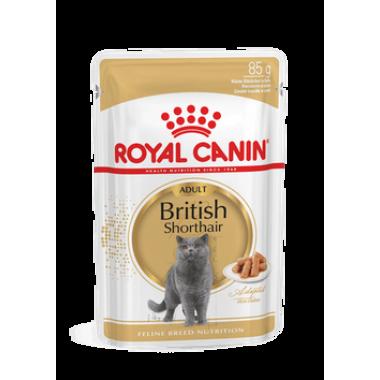 "Влажный корм ""Royal Canin British Shorthair"" для короткошерстных кошек 85 гр."