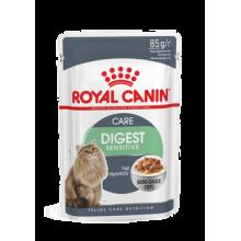 """Влажный корм """"Royal Canin Digest Sensitive"""" для кошек с чувствительным пищеварением (в соусе)"""