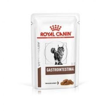 """Влажный корм """"Royal Canin GastroIntestinal"""" диета для кошек при нарушении пищеварения 85 гр."""
