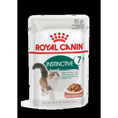 """Влажный корм """"Royal Canin Instinctive 7+"""" для кошек (в соусе) 85 гр."""