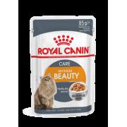 """Влажный корм """"Royal Canin intense beauty"""" для поддержания красоты шерсти кошек (в желе)"""
