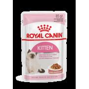 """Влажный корм """"Royal Canin Kitten instinctive"""" для котят от 4 до 12 месяцев (в соусе)"""