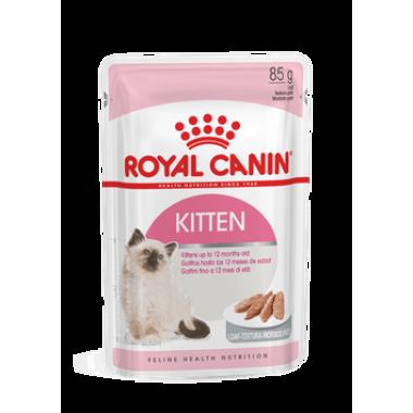 "Влажный корм ""Royal Canin Kitten instinctive"" для котят от 4 до 12 месяцев (паштет) 85 гр."