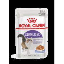 """Влажный корм """"Royal Canin Sterilised"""" для стерилизованных кошек (в желе)"""