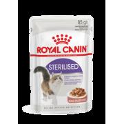 """Влажный корм """"Royal Canin Sterilised""""  для стерилизованных кошек (в соусе)"""