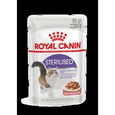 Royal Canin Sterilised влажный корм для стерилизованных кошек (в соусе) 85 гр.
