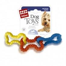 """Игрушка """"Goods for pets"""" для собак """"3 Косточки"""", каучук, 15 см 10008"""