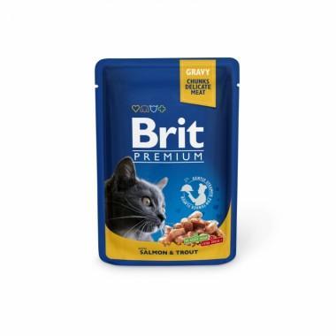 Пауч Brit Premium Лосось и форель