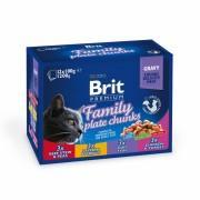 Набор паучей Brit Premium Ассорти Семейная тарелка