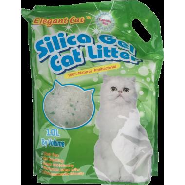 Наполнитель для туалета Elegant Cat Яблоко