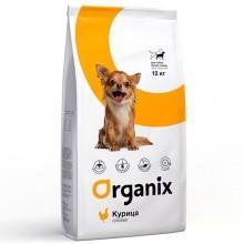 Organix для собак малых пород с курицей (Adult Dog Small Breed Chicken)