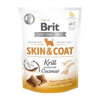Brit Care Dog Functional Snack Skin&Coat с крилем (Здоровье кожи и шерсти) 150 g, 111420