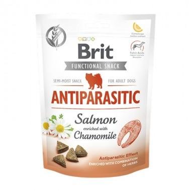 Brit Care Dog Functional Snack Antiparasitic с лососем (Борьба с паразитами) 150 g, 111425