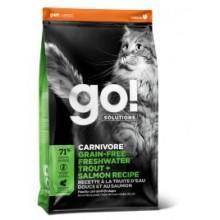 GO Беззерновой корм для котят и кошек с Чувств.пищеварением: Форель, Лосось (Sensitivity)
