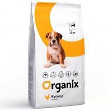 Organix  для щенков малых пород с курицей (Puppy Chicken)