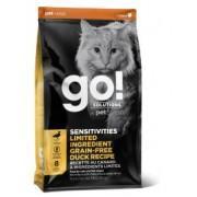 GO Беззерновой корм для котят и кошек с чувств. пищеварением со свежей Уткой