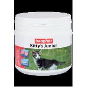 Beaphar Кормовая добавка Kitty's Junior с биотином для котят