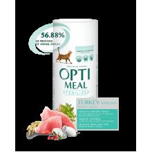 OPTIMEAL Корм для кастрированных котов и стерилизованных кошек (Индейка)