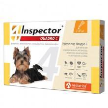 Inspector Quadro Капли для собак 1-4 кг