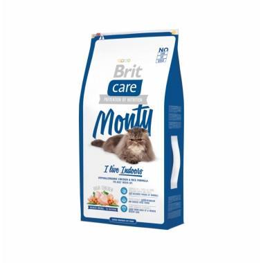 Суперпремиальный гипоаллергенный корм с курицей для взрослых кошек домашнего содержания