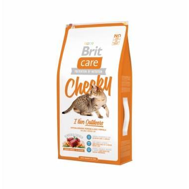 Суперпремиальный гипоаллергенный корм с олениной для взрослых активных кошек и кошек, гуляющих на улице
