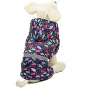 Костюм-дождевик для собак TRIOL Зонтики M 30 см