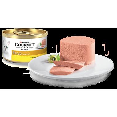 Консервы Gourmet Gold (Паштет с курицей) 85 гр.