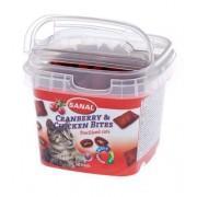 Sanal Cranberry & Chichen bites Подушечки с клюквой и курицей для стерилизованных кошек  SC1578