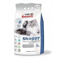Наполнитель для туалета Super Benek Shaggy для длинношерстных кошек, 5л