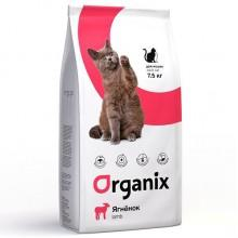 Ogranix Гипоаллергенный корм для кошек с ягненком (Adult Cat Lamb)