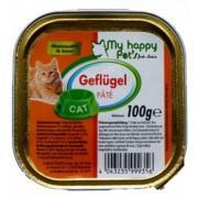 My happy Pets влажный корм для кошек кусочки в соусе (Курица и морковь)