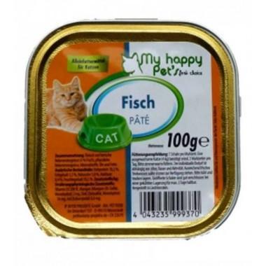 My Happy Pets паштет для кошек (Лосось) 100 гр.