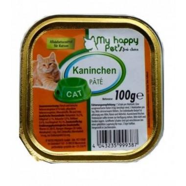 My Happy Pets паштет для кошек (Кролик) 100 гр.