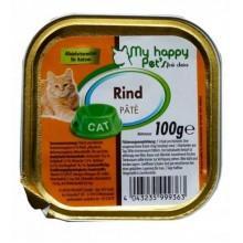 My Happy Pets паштет для кошек (Говядина и печень)