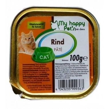 My Happy Pets паштет для кошек (Говядина и печень) 100 гр.