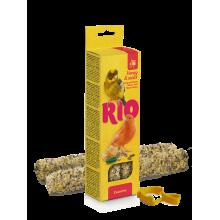 RIO Палочки для канареек с медом и полезными семенами