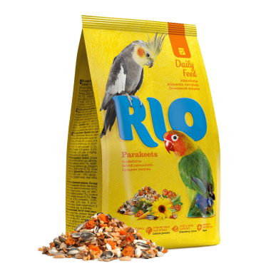 RIO Корм для средних попугаев. Основной рацион 500 гр.